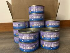 natural balance cat food Wet Venison And Green Pea 5.5 Oz Cans  Quanity 15