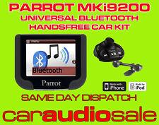 PARROT MKi 9200 MKi9200 UNIVERSAL BLUETOOTH HANDS FREE CAR KIT SAME DAY DISPATCH