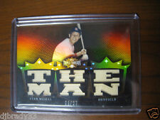 "Stan Musial 2007 Topps Triple Threads 6/27 SixX Game Used Card 1/1 ""The Man"""