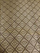 2 X)Vintage Speaker Grill Cloth Fabric .