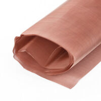 """80 Mesh 200 Microns Copper Woven Wire Filter Sheet Screen 12X36"""" Practical Stock"""