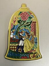 Beauty and the Beast Simply Zakka Stained Glass LE 500 Disney Pin #123583