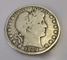 Barber Half Dollar aus den USA von 1909