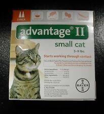 ADVANTAGE II for SM CATS 5 - 9 lbs 2pk (Comes W/BOX ) U.S EPA APPROVED !!!