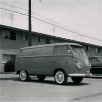 VW Volkswagen Kombi Panel Van 1957 model OLD CAR ROAD TEST PHOTO 1