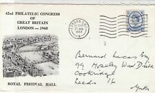Great Britain 1965 42nd Philatelic Congress at Festival Hall Stamps Cover  22252