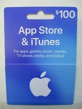 $100 Apple App Store & iTunes Gift Card - Physical USPS Delivery