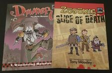 Downer Wandering Monster+ Zogonia Slice of Death Graphic Novel D&D Magazine Lot