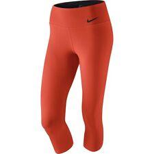 Nike Pro Women's Legendary Tennis Runnig Tights Capri Training Pants Legging Red