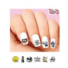 Waterslide Nail Decals Set of 20 - Nightmare Before Christmas Assorted