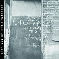 "RED GARLAND TRIO ""GROOVY (RUDY VAN GELDER REMASTER)"" CD"