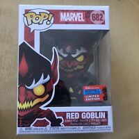 Funko Pop! Marvel Red Goblin #682 NYCC Fall 2020 Shared Exclusive In Hand
