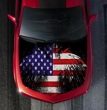 POW MIA American Flag Eagle Truck Car Hood Wrap Vinyl Decal Wrap #Hood39
