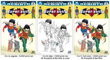 SUPER SONS #1 SET by FRANK QUITELY Mxyzptlk VARIANT