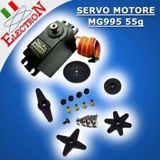 SERVO MOTORE MG995 55g TOWER PRO + INGRANAGGI IN METALLO COPPIA 13Kg ARDUINO T25