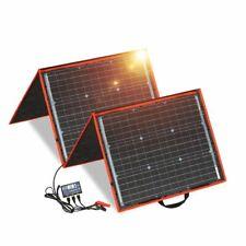 Portable Solar Panel 12V Solar Monocrystalline Foldable Photo Voltaic Panels New