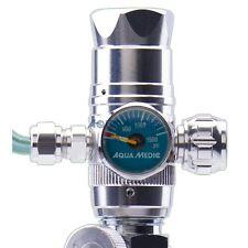Aqua Medic regular mini Druckminderer mit Flaschendruckanzeige und Nadelventil