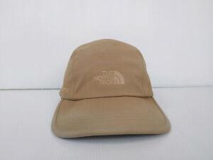 5 Panel Gore-Tex THE NORTH FAC. Hat Cap Brown Rain Waterproof