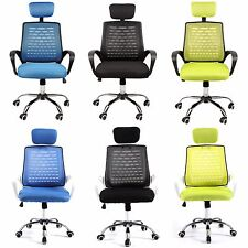 Modern Home Drafting Computer Office Desk Commercial Task Chair Armrest Chairs