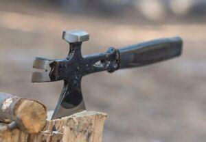 Hatchet Hammer Crow Bar Emergency Survival Axe Multi Use Tool
