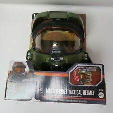 HALO Helmet MASTER CHIEF TACTICAL HELMET *NEW* mattel play costume