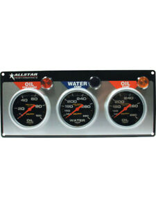 Allstar Performance Gauge Panel Assembly Auto Meter Pro-Comp Oil Pre… (ALL80122)