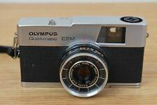 Vintage Olympus Quickmatic EEM with case and manual *Untested*