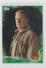 Star Wars Rogue One Trading Card Green Parallel Character Card #10 Draven