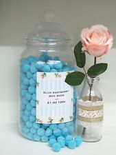 300g Retro Traditional Blue Raspberry Bon Bons Sweets Candy Wedding Party Bags