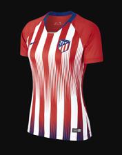 Camiseta MUJER personalizable Atletico Madrid 18 19 Rojo + parches talla S  M L 815212b59ba2e