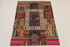 nomades patchwork Délavé Used Look PERSAN TAPIS tapis d'Orient 2,65 x 1,90