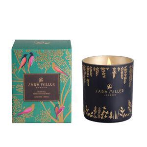 Sara Miller White Tea, Bergamot & Mint Candle