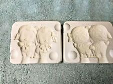 CARTOON FIGURES By Kimple Mold Ceramic Slip Casting Mold Storage Auction Win