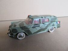 141L Vintage Norev France 41 Simca Marly Ambulance Militaire 1:43 Repeint