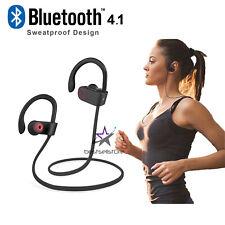 Wireless Headset Bluetooth Headphones Sport Earbuds Earphones HiFi Stereo Mic