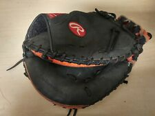 "Easton Black Leather Catchers Mitt 33"" PCM30T"