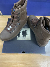 More details for altberg mens defender combat high liability boots size 10 medium british army