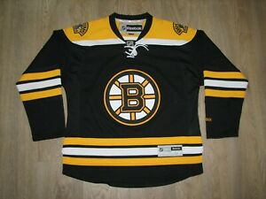 NHL BOSTON BRUINS 2014-15 HOCKEY JERSEY REEBOK SHIRT SIZE L