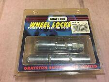 GRAYSTON TLN14 LOCKING WHEEL NUTS - JIMMY'S
