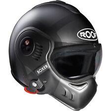 Roof Boxer V8 Bond Flip Front Motorcycle Helmet Motorbike Modular Crash Lid ECE Matt Titanium Black XS Rboxer V8bond TB 54