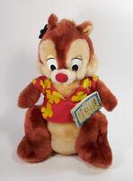 "VTG Chip n Dale 11"" Chip plush Rescue Rangers Disney & 9"" Dale plush"