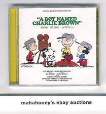 A Boy Named Charlie Brown (1970) SOLD OUT Ltd Ed 1,000 OOP CD Soundtrack SEALED!