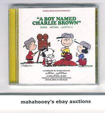 A Boy Named Charlie Brown (1970) SOLD OUT Ltd Ed 1,000 OOP CD Soundtrack SEALED!