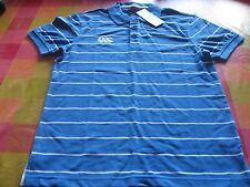 Canterbury Men's Blue Polo Top Size Small Brand New with Tag