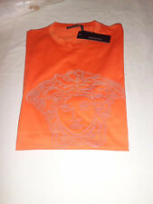 Authentic Versace T- Shirt Uomo Metallic Medusa Size M