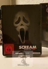 Scream Quadrilogy 1-4 (1 2 3 4) - Limited exclusive Blu ray Steelbook new *READ*