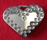 RHINESTONE COWGIRL Belt Buckle with HEART!