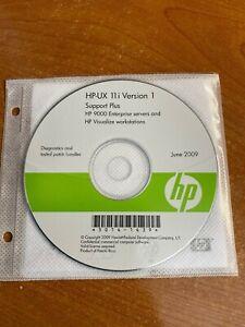 HP-UX 11i Version 1 Support Plus Software CD HP 9000 Enterprise Servers