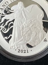 More details for 2021 east india una & the lion 1oz silver proof coin - east india company
