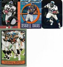 Lot of 36 different Terrell Davis cards - 1995-2002 - 46 cards total - ROOKIE